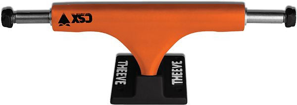 Theeve CSX - Orange/Black - 5.0in - Skateboard Trucks (Set of 2)