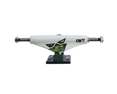 Theeve CSX Lo Camo (V3) - White/Black - 5.0in - Skateboard Trucks (Set of 2)