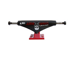 Theeve CSX Jordan Hoffart Going Hoff (V3) - Black/Red - 5.25in - Skateboard Trucks (Set of 2)