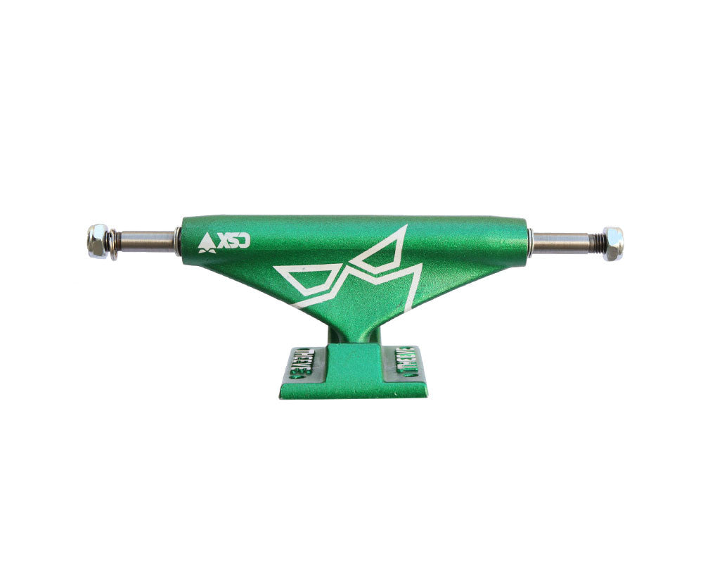 Theeve CSX Crop Green Lantern (V3) - Green/Green - 5.0in - Skateboard Trucks (Set of 2)