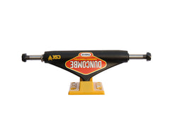 Theeve CSX Duncombe Pro (V3) - Black/Yellow - 5.0in - Skateboard Trucks (Set of 2)