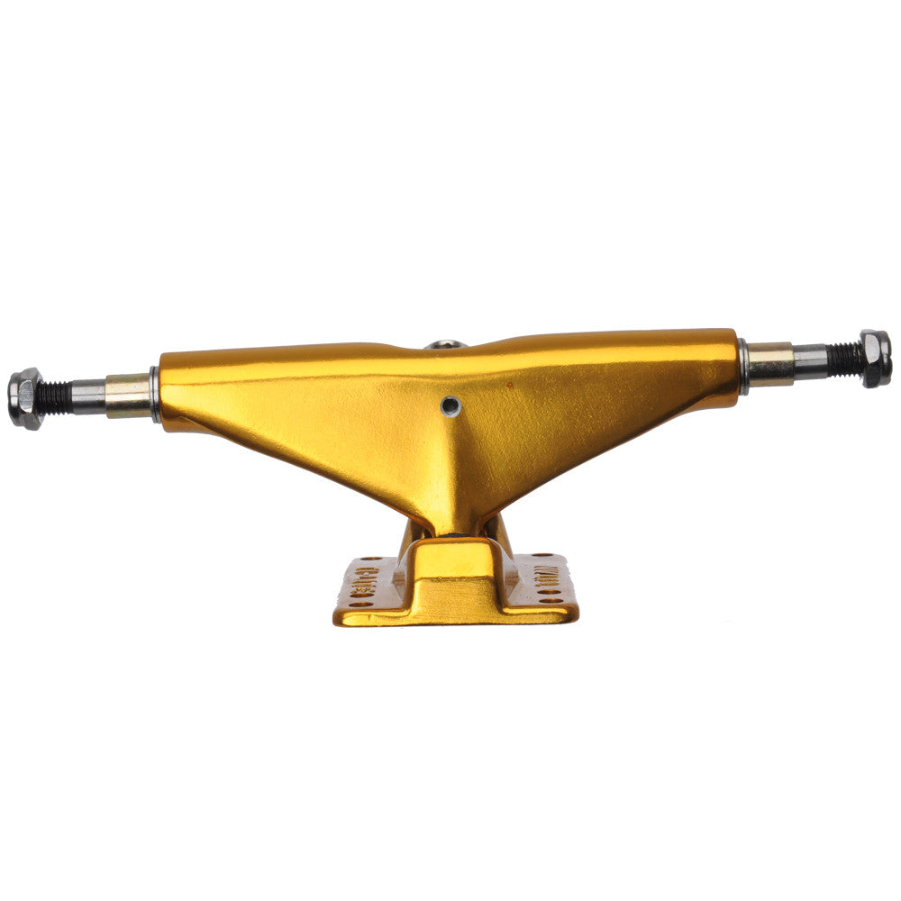 Titan Ti-Lite - Gold - 5.0 - 98a - Skateboard Trucks (Set of 2)