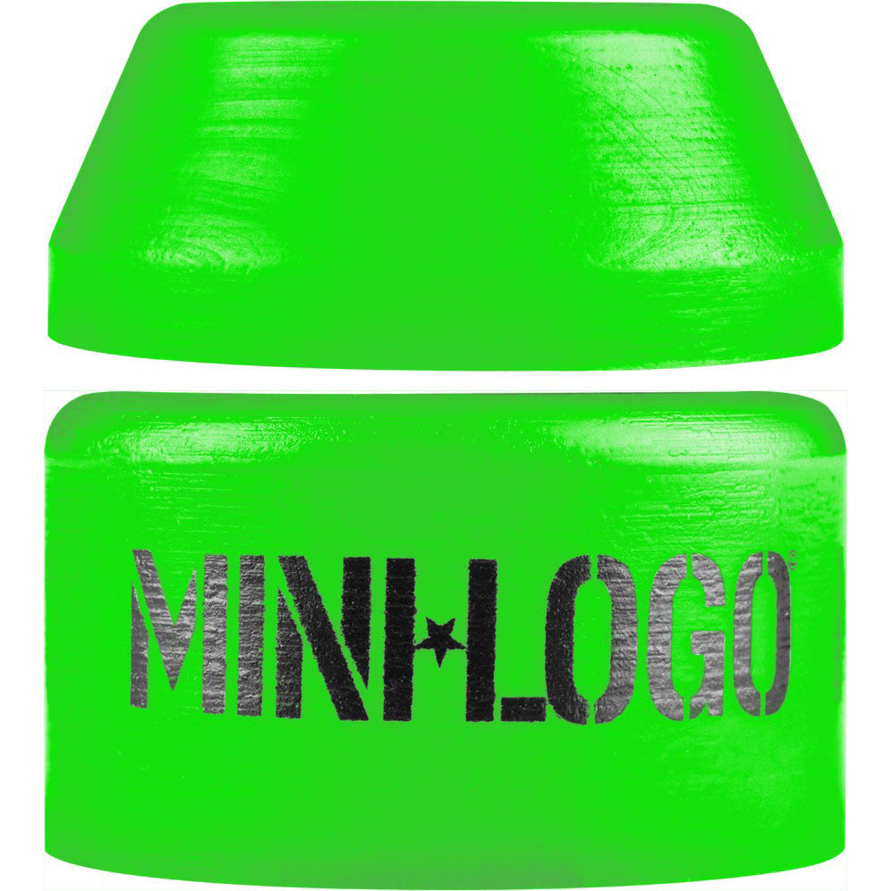 Mini Logo Bushing Set - Green - Soft - Skateboard Bushings (2 PC)