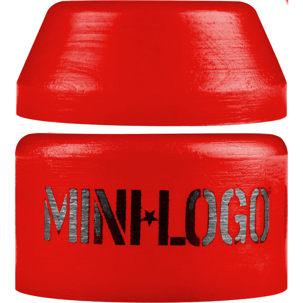 Mini Logo Bushing Set - Red - Hard - Skateboard Bushings (2 PC)