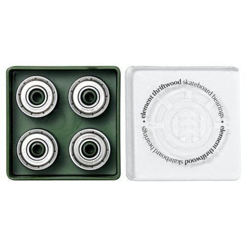 Element Thriftwood - Silver - Skateboard Bearings (8 PC)