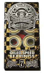 Speed Demons Oiled - Abec 7 - Skateboard Bearings (8 PC)