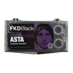 FKD Tom Asta Blacklight Series - Abec 7 - Skateboard Bearings (8 PC)