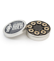 Girl Gold - Skateboard Bearings (8 PC)