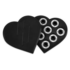 Mystery Bearings - Abec 7 - Black/White - Skateboard Bearings (8 PC)
