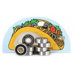 Skate Mental Taco - Skateboard Bearings (8 PC)