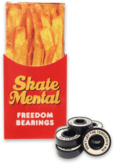 Skate Mental Freedom - Abec 5 - Skateboard Bearings (8 PC)