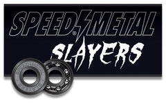 Speed Metal Slayers - Abec 3 - Skateboard Bearings (8 PC)