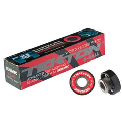 Seismic Tekton 6 Ball Bearings - Skateboard Bearings (8 PC)