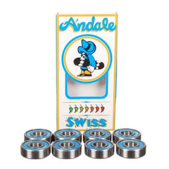 Andale Swiss - Skateboard Bearings (8 PC)
