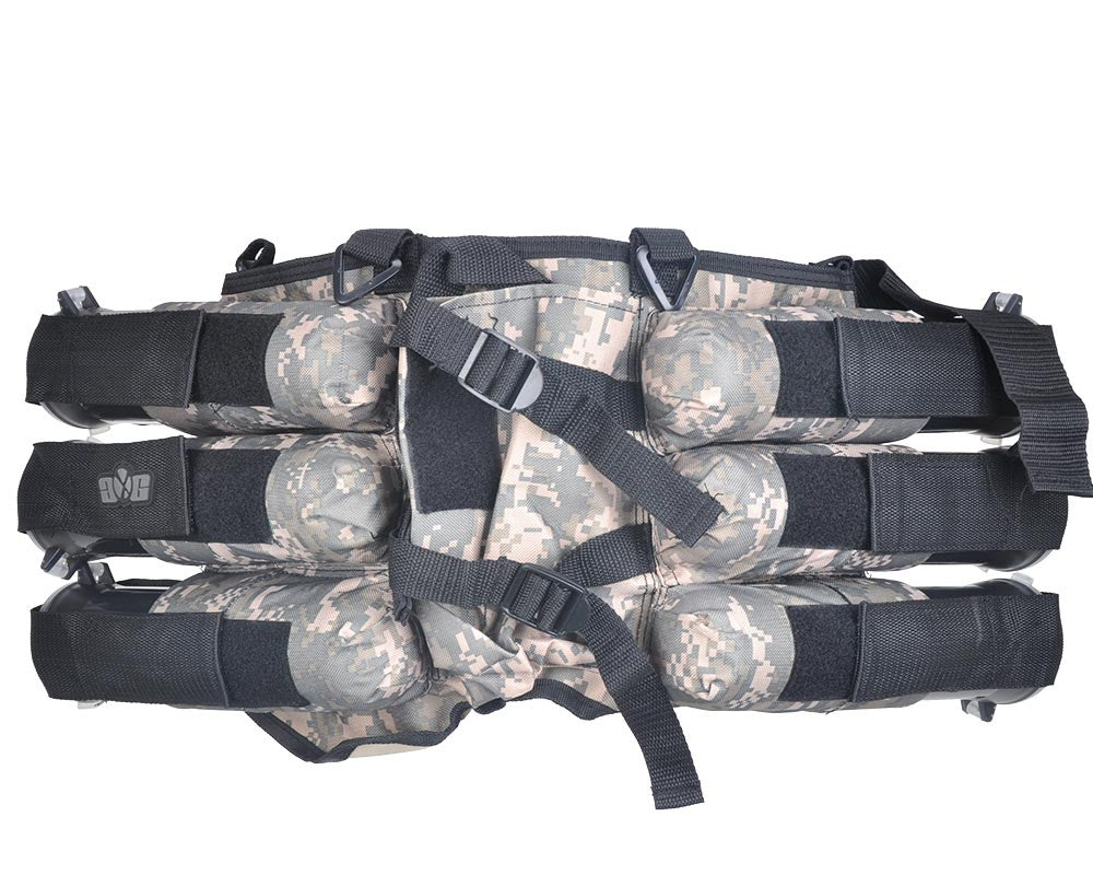 Gen X Global 6+1 Horizontal Paintball Harness - ACU