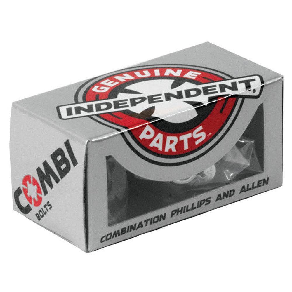 Independent Genuine Parts Combination Bolts - Silver - 1in - Skateboard Mounting Hardware
