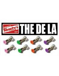 Shorty's De La - 1in - Skateboard Mounting Hardware