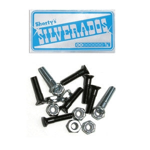 Shorty's Phillips - 7/8in - Skateboard Mounting Hardware