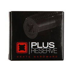 Plus Reserve Universal - Black/Silver - 1in - Skateboard Mounting Hardware