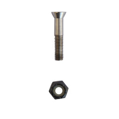 Theeve Ti Deck Bolts Philips - 1in - Skateboard Mounting Hardware