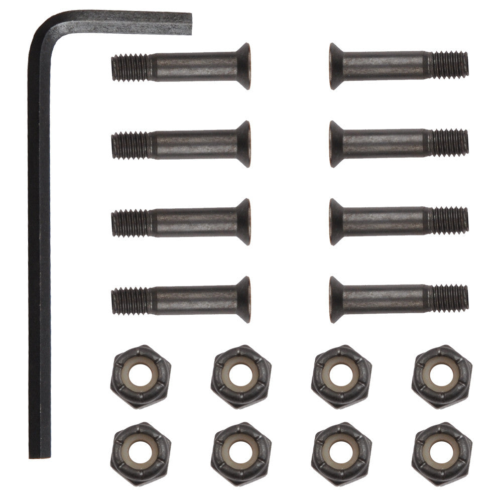 Theeve Regular Deck Bolts Allen - 1in - Skateboard Mounting Hardware