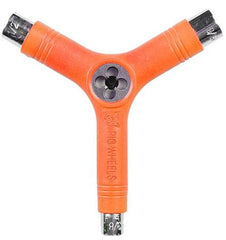 Pig Tri-Socket Threader Tool - Orange - Skateboard Tool