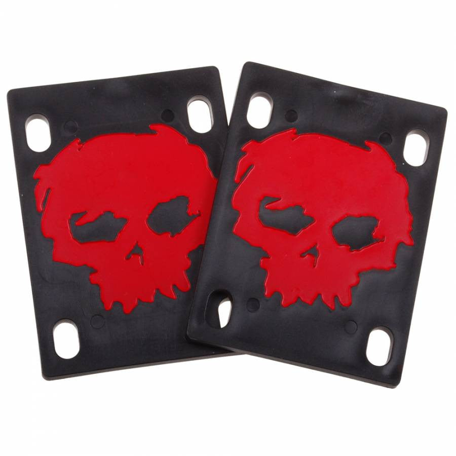 Zero Blood Skull - Black - Skateboard Riser (2 PC)