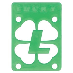 Lucky - Green - 1/8in - Skateboard Riser (1 PC)