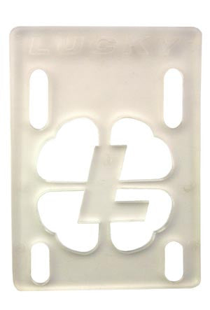 Lucky - Clear - 1/8in - Skateboard Riser (1 PC)