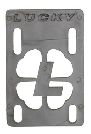 Lucky - Silver - 1/8in - Skateboard Riser (1 PC)