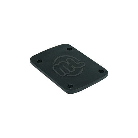 Mini Logo Rubber - Black - .1in - Skateboard Risers (2 PC)