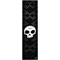Zero Skull Stenctil Mob - Black/White - Skateboard Griptape (1 Sheet)