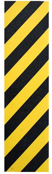 FKD Grip Hazard - Yellow/Black - Skateboard Griptape (1 Sheet)