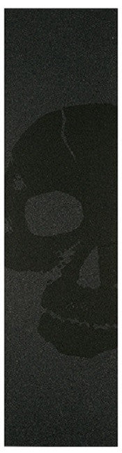 FKD Grip Pro - Black Skull - Skateboard Griptape (1 Sheet)