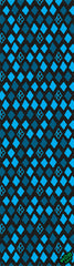 Krooked Grip Tape Diamond Blue 9in x 33in - Griptape (1 Sheet)