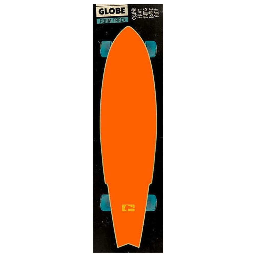 Globe Simple Logo FoamTrac - Hunter Orange - Skateboard Griptape (1 Sheet)