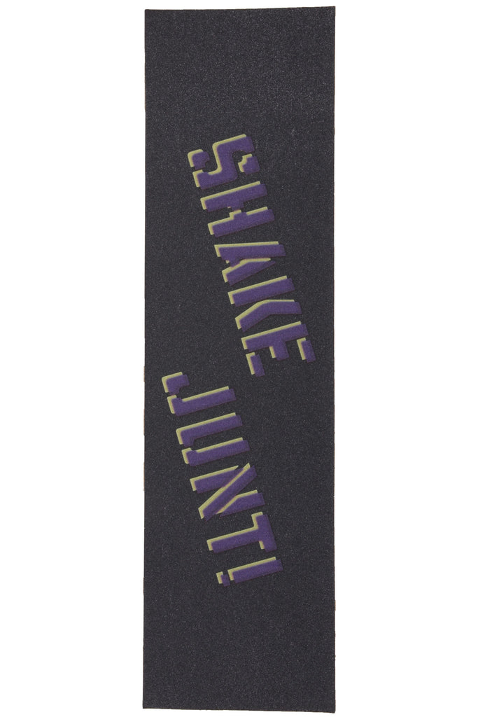 Shake Junt - Purple/Yellow - Skateboard Griptape (1 Sheet)