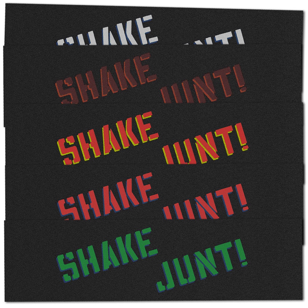 Shake Junt X Canada - 9in x 33in - Assorted - Skateboard Griptape (1 Sheet)