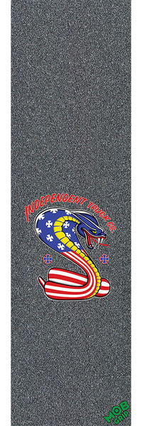Mob Independent Usa Cobra - 9in x 33in - Skateboard Griptape (1 Sheet)