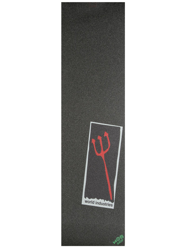 Mob World Industries Pitchfork Griptape 9in x 33in - Skateboard Griptape (1 Sheet)