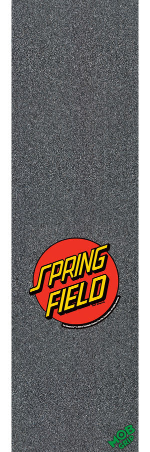 Mob Simpsons Springfield Dot Grip Tape 9in x 33in - Skateboard Griptape (1 Sheet)