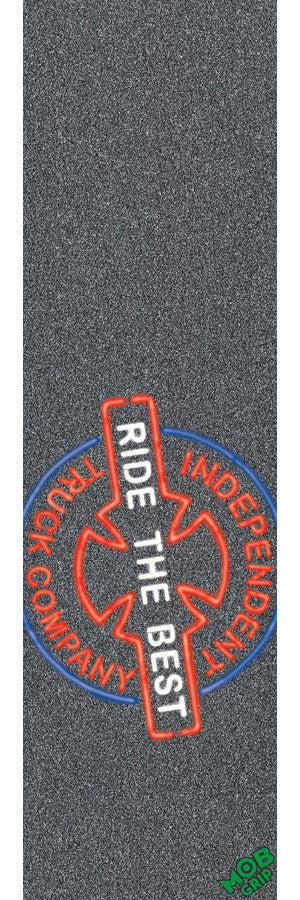 Mob Independent All Night Grip Tape 9in x 33in - Skateboard Griptape (1 Sheet)