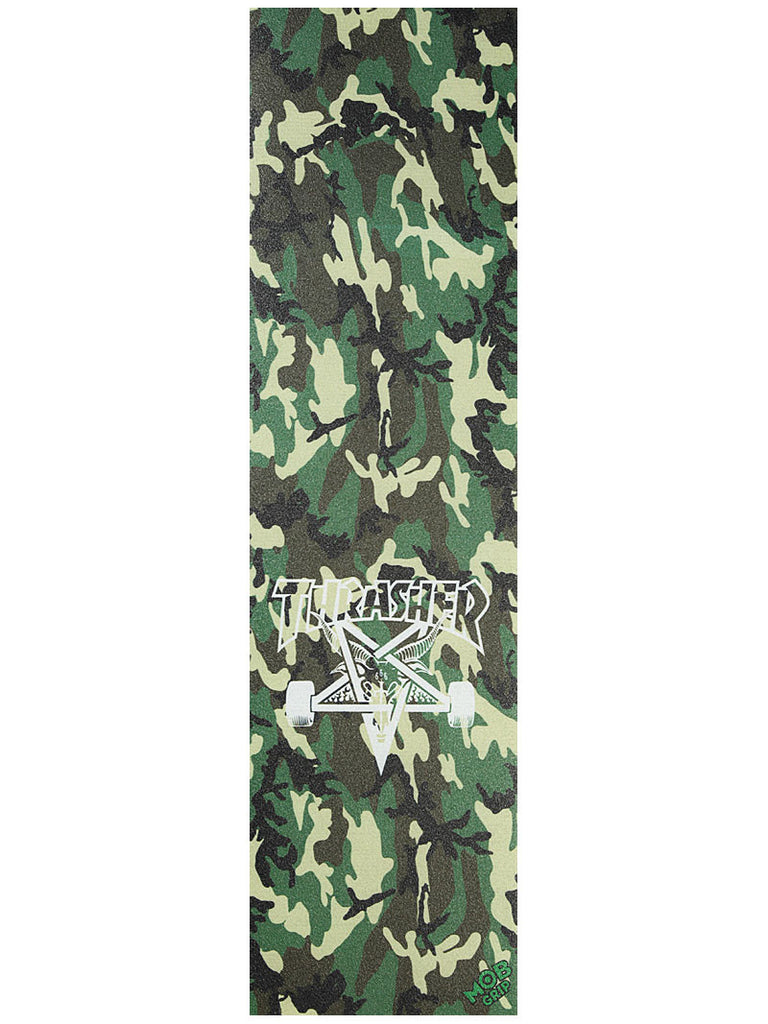 Mob Thrasher Camo - 9in x 33in - Assorted - Skateboard Griptape (1 Sheet)