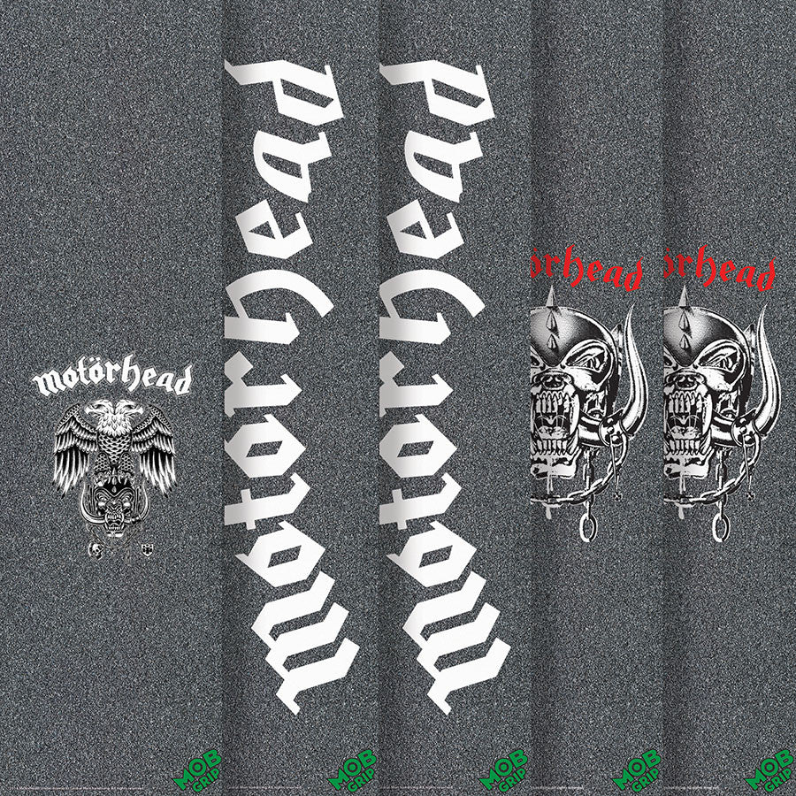 Mob Motorhead - Assorted - 9in x 33in - Skateboard Griptape (1 Sheet)