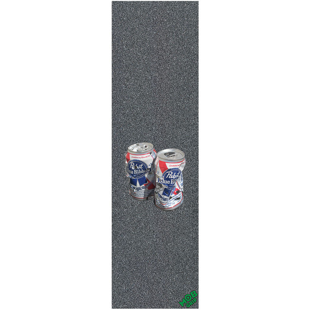 Mob PBC PBR Shot Up 2 Grip Tape 9in x 33in - Black - Skateboard Griptape (1 Sheet)