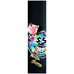 Mob Mouse Kreamy Wax Hand Sprayed 9in x 33in - Skateboard Griptape w/ Wax Bar (1 Sheet)