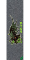 Mob Creature Nonconformist  9in x 33in - Black - Skateboard Griptape (1 Sheet)
