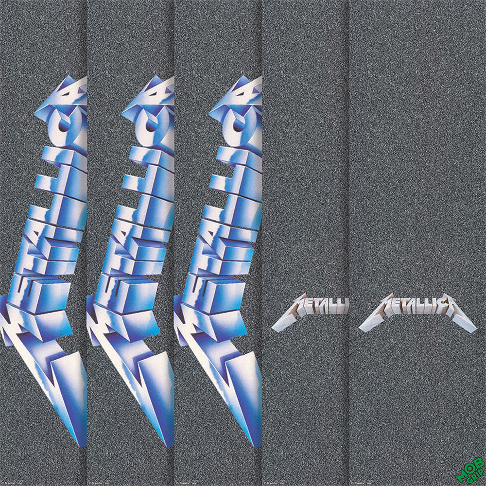 Mob Metallica  9in x 33in - Assorted - Skateboard Griptape (1 Sheet)