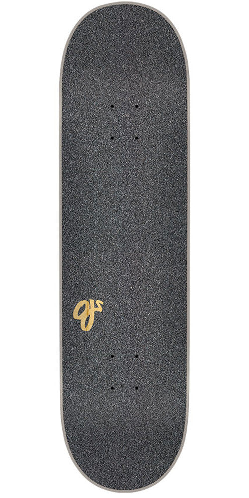 Mob Laser Cut OJ Logo  9in x 33in - Black - Skateboard Griptape (1 Sheet)