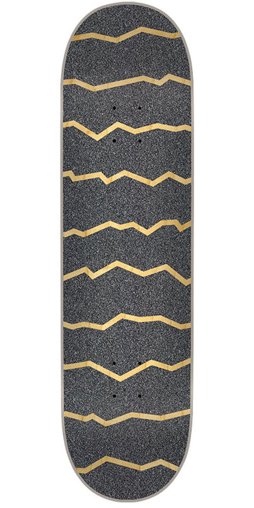 Mob Laser Cut 80's Strips  9in x 33in - Black - Skateboard Griptape (1 Sheet)